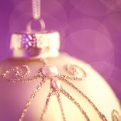 Elegant Christmas Ornament — 图库照片