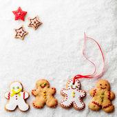 Gingerbread Men — Stock Photo