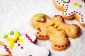 Gingerbread Men — 图库照片