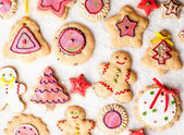 Gingerbread Cookies — ストック写真