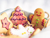 Gingerbread Cookies — 图库照片