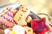 Gingerbread Cookies — Stockfoto