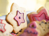 Gingerbread Stars — Stockfoto