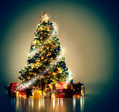 Magical Christmas Tree — Stockfoto