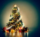 Magical Christmas Tree — Stock Photo