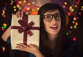 новогодний подарок — Стоковое фото