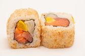 Spring Sushi Rolls — Stock Photo