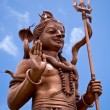 Bronze Shiva Statue on Mauritius — Stock Photo