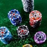 Big win in the casino — Stock Photo