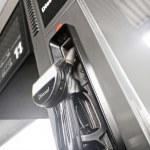 Diesel fuel dispenser — Stock Photo
