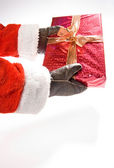 Present from Santa Claus — Stock Photo