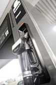 Diesel fuel dispenser — Stock Photo