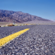 Highway in Death Valley — Stock Photo