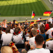 People on stadium in Germany — Stock Photo #30051719