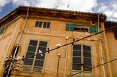 House in the old town of Palma de Mallorca — Stock Photo