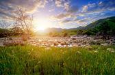 Heavenly landscape — Stock Photo