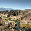 River in barren landscape — Stock Photo