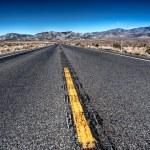 Straight highway — Stock Photo