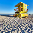 Stock Photo: Lifeguard lookout point