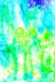 Handmade watercolor  artistic colorful background for for very d — Stock Photo