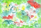 Handiwork aguacolor colored    background. Gorgeous illustration — Stock Photo