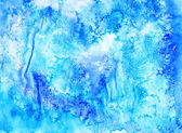 Abstract grunge aquarelle background.  Handiwork  texture. Water — Stock Photo
