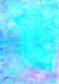 Abstract wash drawing artistic handmade blue  background.  Aguac — Stock Photo
