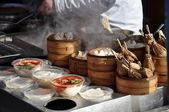 Peking-Lebensmittelmarkt — Stockfoto