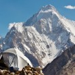 Stock Photo: Karakorum Camp, Pakistan