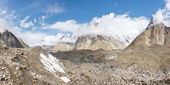 Panorama do glaciar baltoro — Foto Stock