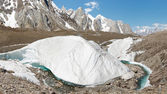 Baltoro Glacier Ice Formation — Stock Photo