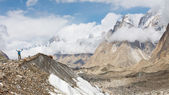 Baltoro Glacier Trekking — Stock Photo