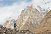 Hiking in the Karakorum — Stock Photo
