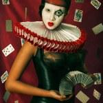 Queen of hearts. — Stock Photo