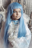 Fairy tale girl — Stock Photo
