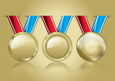 Award Medals Template 02 — Stock Photo