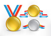 Award Medals 03 — Stock Vector
