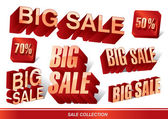 Big Sale Collections 01 — Stock Vector
