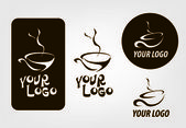 Coffee Shop Logo Template — Stock Vector