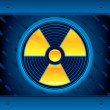 Royalty-Free Stock Vector Image: Radioactive !