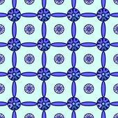 Siatki niebieski wzór — Wektor stockowy