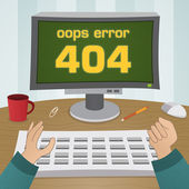 404 página não encontrada erro — Vetorial Stock