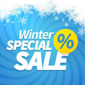 Winter special sale — Stockvektor