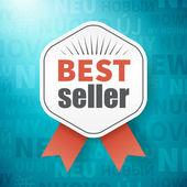Beste verkoper op achtergrond met nieuwe mogelijkheden in andere taal — Stockvector