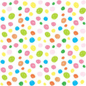 Kids colorful brush stroke seamless pattern — Stock Vector