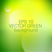 Green vector background with flashes of light — Stock Vector