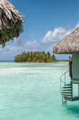 Little island in Borabora — Stock fotografie