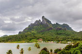 Mount Otemanu in Borabora — Stock Photo