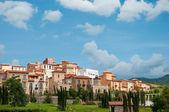 Classical villa, town in european style — Stock Photo