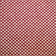Stock Photo: Red and white linen fabric texture for background